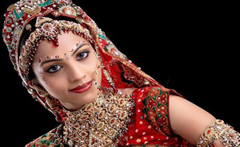 Bridal makeup & Saree draping